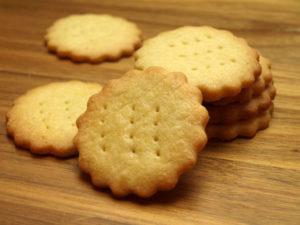 Biscuits sabl?s sans ?ufs